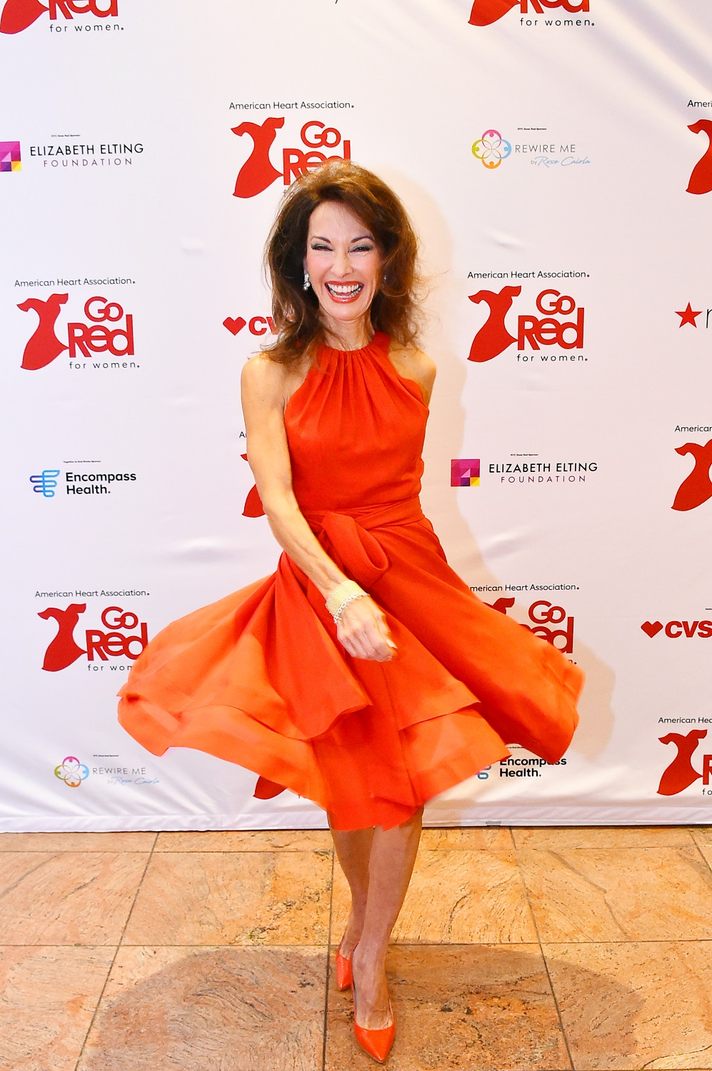 Susan Lucci in red photo