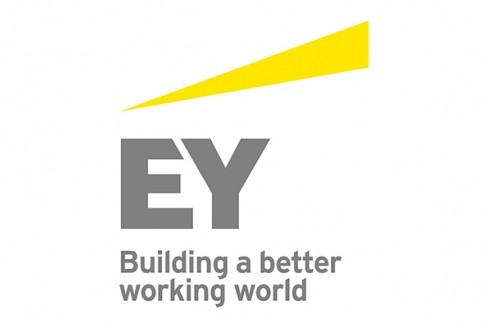 E Y Building a better working world logo
