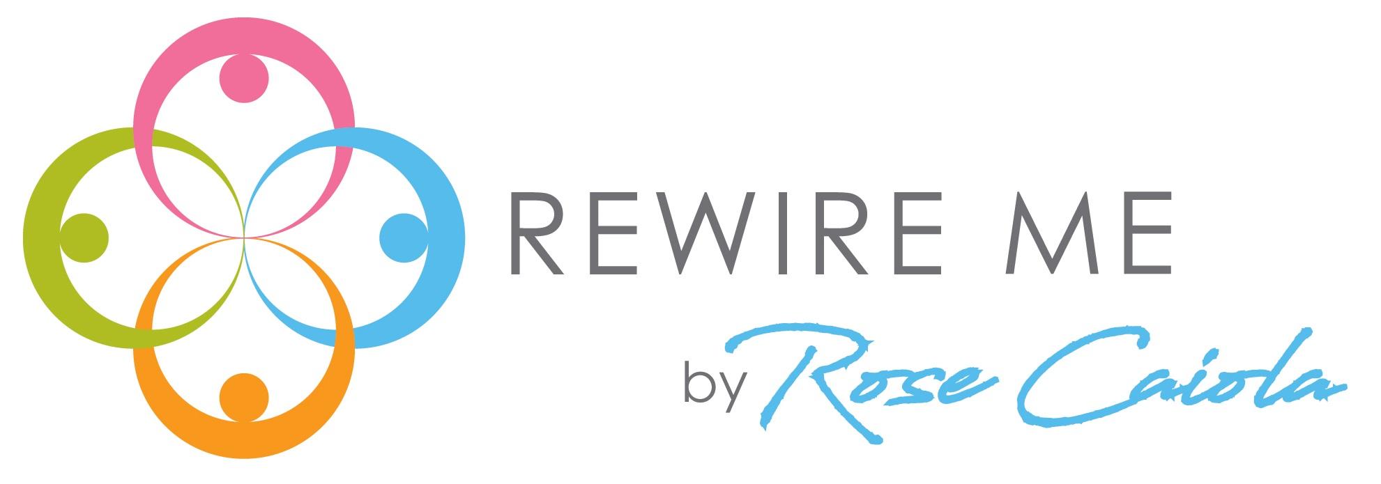 Rewire Me by Rose Caiola Logo