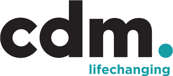 C D M Lifechanging Logo