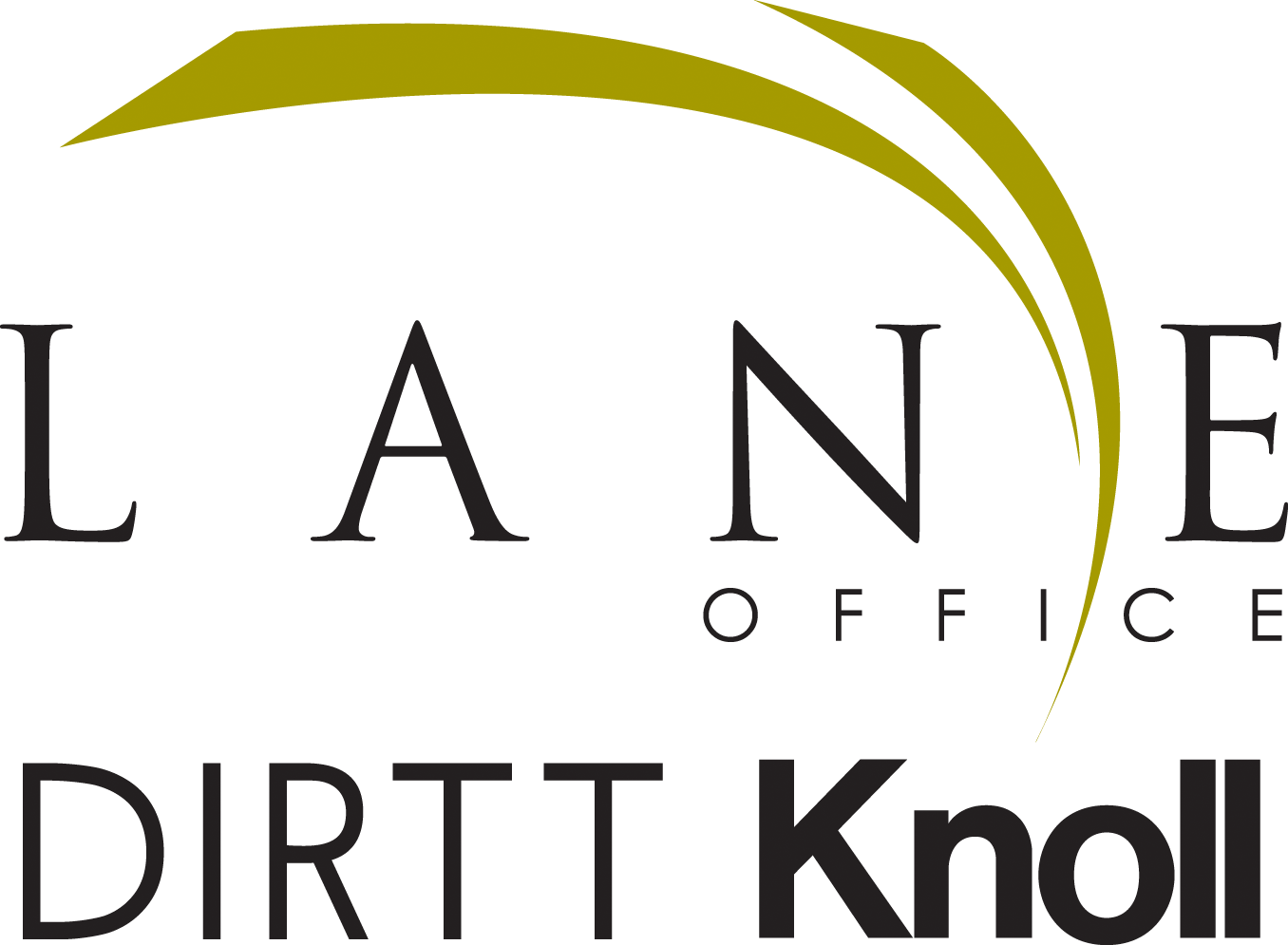 Lane Office Dirt T Knoll Logo