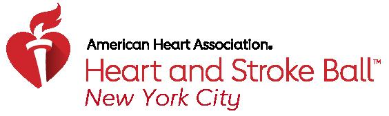 American Heart Association New York City Heart and Stroke Ball Logo